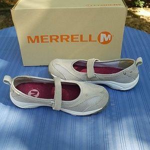 Merrell Shoes - Merrell Kamori Emme Ash shoe with velcro strap